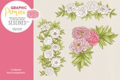 Pretty Peonies in Pink & Yellow Product Image 5