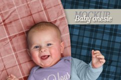 Mockup baby onesie Product Image 2