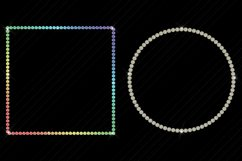 Gemstone/Diamonds Frames Clip Art Product Image 4