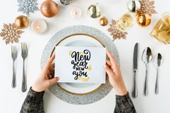 Happy New year cards svg. New Years eve. Hello 2021 svg. Product Image 2