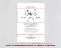 Thanks wedding sign, TOS_47 Product Image 4