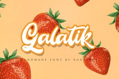 Galatik - Quirky and Sweet Romantic Script Product Image 1