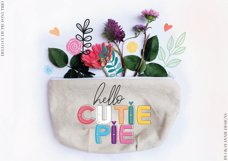 Hello Cutie Pie Font Collection Product Image 2