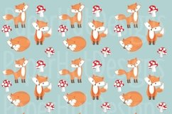 Fox and Owl Digital Papers Product Image 2