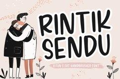 Rintik Sendu Fun & Fat Handbrushed Font Product Image 1