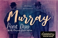 Murray Script Font Duo Product Image 1