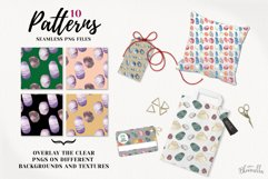 Gemstones Seamless Patterns Digital Papers Crystals Gems Product Image 3