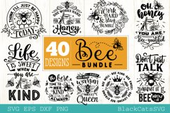 Bee Bundle SVG 40 designs Product Image 9