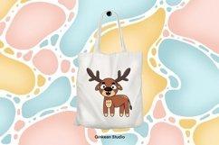 Deer clipart, deer png, digital sticker, sticker,sublimation Product Image 4