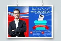 10 Horizontal Election Voting Flyers Bundle Product Image 3