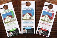 Real Estate Door Hangers Product Image 2