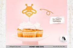 Honey Bee SVG Bumble Bee SVG Bee Cut File Bee Clipart Kids Product Image 2