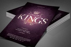 A Tale of Two Kings Church Flyer Product Image 6