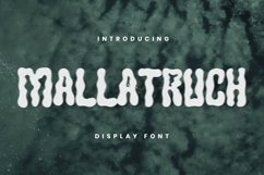 MALLATRUCH Font Product Image 1