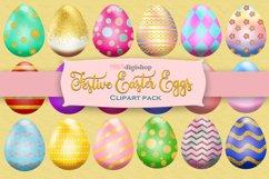 Easter Egg Clipart Pack, Elegant Design, Set of 25 Product Image 1