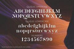 Quizles - Stencil Serif Font Product Image 4