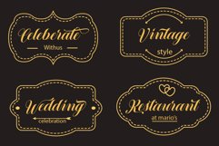 12 graceful charming fonts Product Image 4