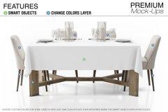 Tablecloth Mockup Set Product Image 2