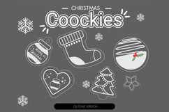 Christmas cookies clipart vol.3 Product Image 2