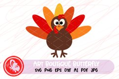 Turkey feathers svg Thanksgiving decor Gobble svg Turkey day Product Image 1