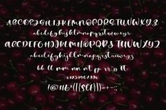 Web Font Cherry Heart Script Font Product Image 5