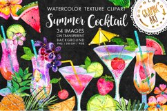 Summer Cocktail Clip Art Product Image 1