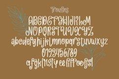 Web Font Troufins - Handrawn Funky Font Product Image 3