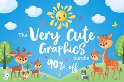 The Very Cute Graphics Bundle Product Image 1