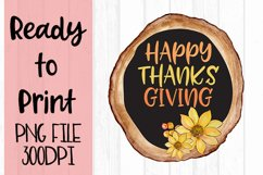 Happy Thanksgiving Ready to Print Product Image 1