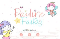 Pauline and Fairy Font Product Image 1