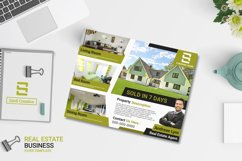 Real Estate Business Flyer Template   US Flyer Landscape Product Image 1