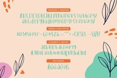 Web Font Baballe - Cute Kids Font Product Image 4