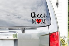 Cheer Mom Cheerleader Mother SVG Design Product Image 2