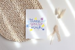 Thank you card Bundle. Thank you card clipart Product Image 4