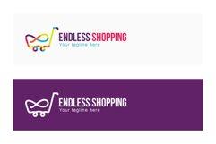 Endless Shopping - Infinity Symbol Linear Stock Logo Product Image 2