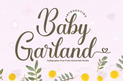 Baby Garland Product Image 1