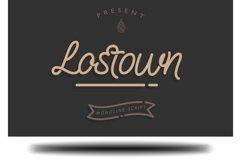 Lostown Monoline Script Product Image 1