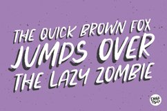 ZOMBIE CRAWL a Distressed Halloween Font Product Image 2