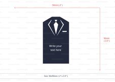 Lawyer business card template cutting file Product Image 3