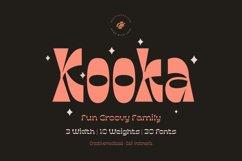 Kooka Font - Fun Groovy family Product Image 2