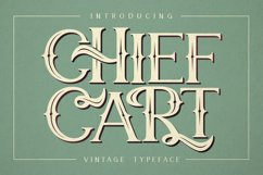 Chief Cart Vintage Typeface Product Image 1