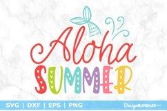 Aloha Summer SVG File Product Image 1