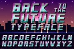 Futuristic english alphabet - 80-90s Product Image 1