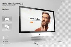 iMac Desktop Mockup vol. 02 Product Image 1
