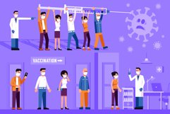 New Normal and People Vaccination Product Image 3