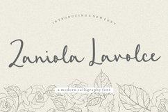 Zaniola Lavolce Modern Callihgraphy Font Product Image 1