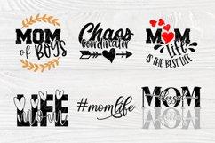 Mom Signs SVG Bundle, Funny Mom Shirt, Svg Cut Files Cricut Product Image 4