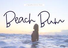 Beach Bum - Handwritten Script Font Product Image 1