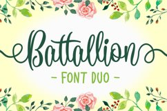 Battallion Font Duo - 70% OFF Product Image 1
