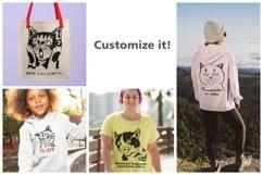 183 Cat Portraits Illustrataions SVG, PNG, eps, ai, pdf Product Image 3